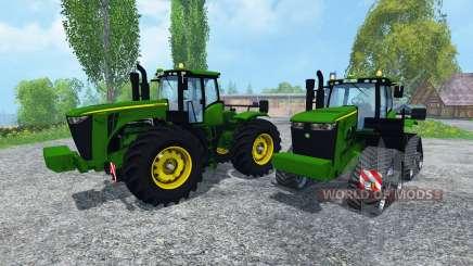 John Deere 9560R para Farming Simulator 2015