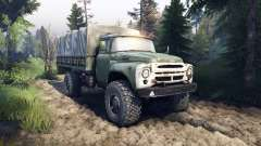ZIL-130 4x4 para Spin Tires
