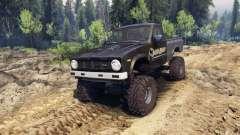 Toyota Hilux Truggy 1981 v1.1 camo para Spin Tires