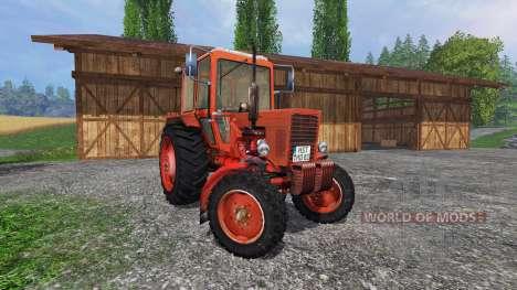 MTZ 80 Belarús v3.1 para Farming Simulator 2015