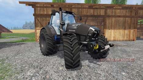 Deutz-Fahr Agrotron 7250 TTV Black Edition v2.0 para Farming Simulator 2015