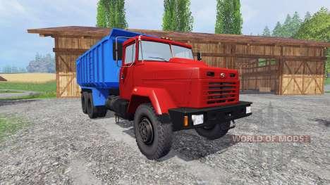 Kraz-6130 C4 para Farming Simulator 2015