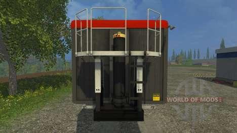 Stapel Mulde para Farming Simulator 2015