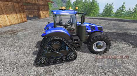 New Holland T8.435 with 200 km-h para Farming Simulator 2015
