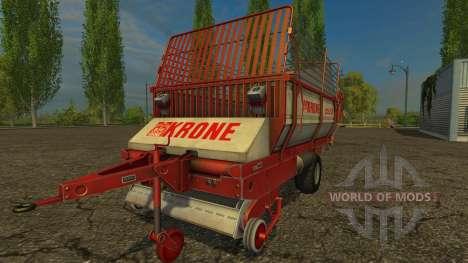Krone Turbo 2500 para Farming Simulator 2015