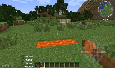 Spawnable Liquids para Minecraft