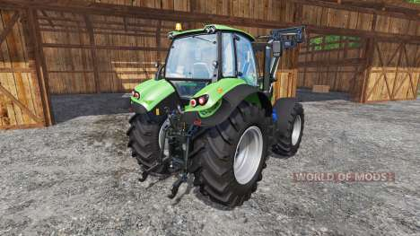 Deutz-Fahr Agrotron 7250 TTV FL v1.2 para Farming Simulator 2015