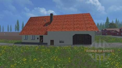 Casa de pueblo para Farming Simulator 2015