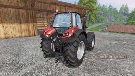 Deutz-Fahr Agrotron 7250 TTV red para Farming Simulator 2015