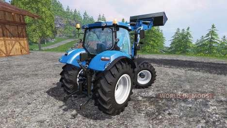 New Holland T6.160 FL para Farming Simulator 2015