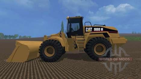 Cat 980H AWS v3 para Farming Simulator 2015