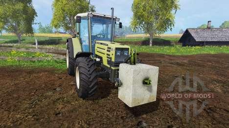 Hormigón contrapeso de 500 kg. para Farming Simulator 2015
