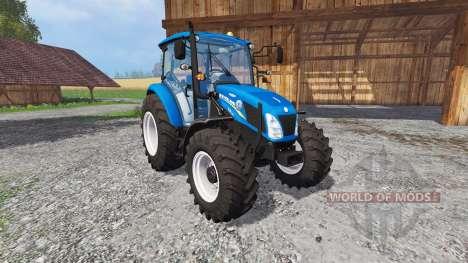 New Holland T4.115 matt Farbe para Farming Simulator 2015