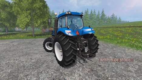 New Holland T8.435 with Weight para Farming Simulator 2015