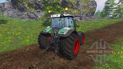 Huerlimann XM 130 4Ti para Farming Simulator 2015