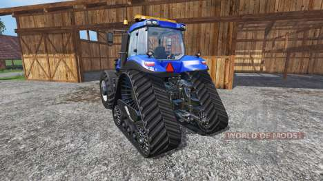 New Holland T8.435 with 200 km-h v1.1 para Farming Simulator 2015