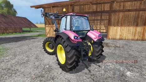 Deutz-Fahr Agrotron 7250 FL pink color para Farming Simulator 2015