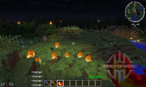 Fire Flower para Minecraft