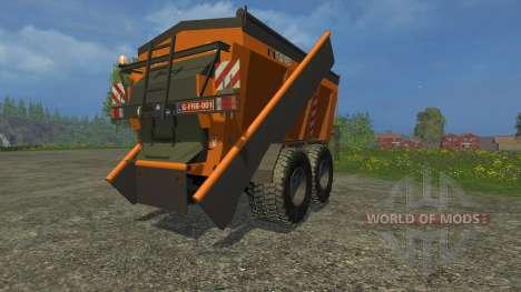 Panien PW 18-10E para Farming Simulator 2015