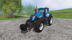 New Holland T8.435 with Weight