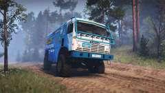 KamAZ 49252 para Spin Tires