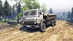 KamAZ-55102 v4.0 para Spin Tires