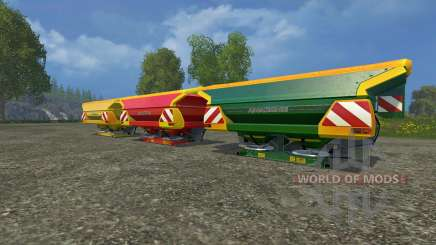Conjunto De Amazone Zam 1501 para Farming Simulator 2015