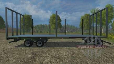 Palettenanhaenger para Farming Simulator 2015