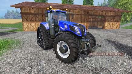 New Holland T8.435 with 200 km-h para Farming Simulator 2015