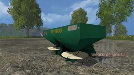 RU-1000 para Farming Simulator 2015
