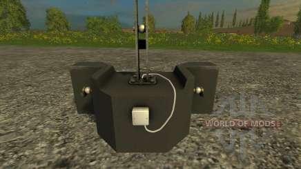 Lagarto 800кг para Farming Simulator 2015