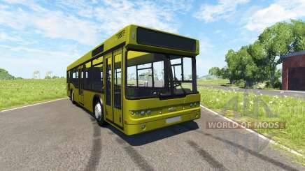 MAZ-203 amarillo para BeamNG Drive