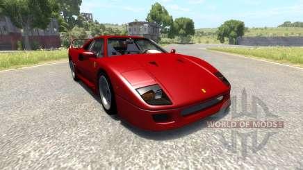 Ferrari F40 para BeamNG Drive