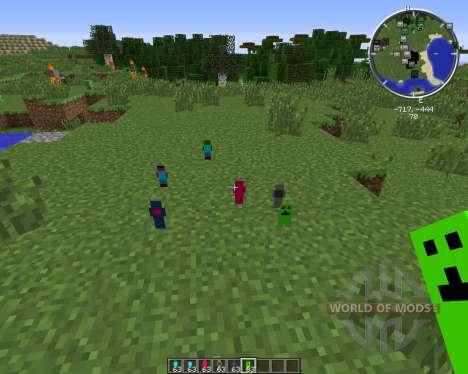 Clay Living Dolls para Minecraft