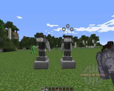 Weeping Angels para Minecraft
