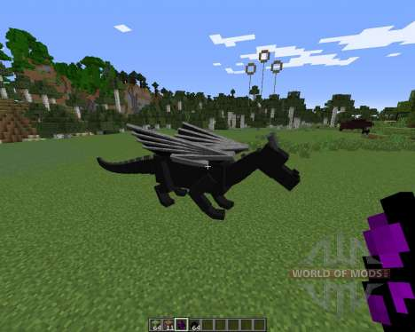 Dragon Mounts para Minecraft