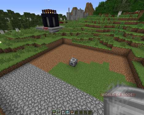 Clearing Block para Minecraft