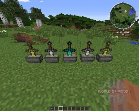 Sword Pedestal para Minecraft