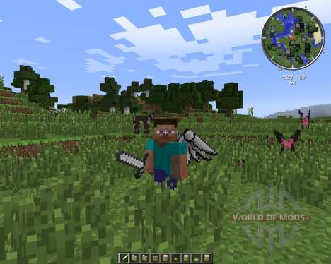 Cosmetic Wings para Minecraft