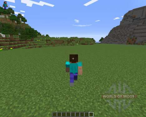 Character On GUI para Minecraft