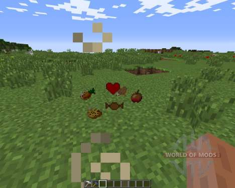 Gods Sacred Items para Minecraft