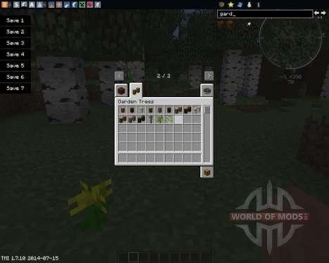 GardenStuff para Minecraft