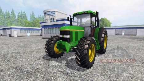 John Deere 6100 para Farming Simulator 2015