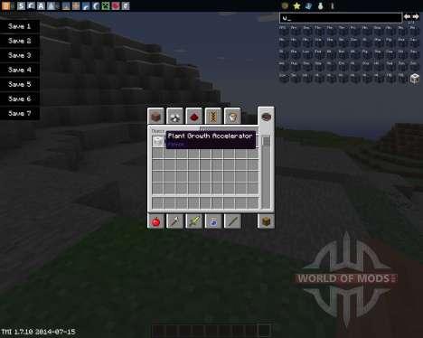 Plant Growth Accelerator para Minecraft