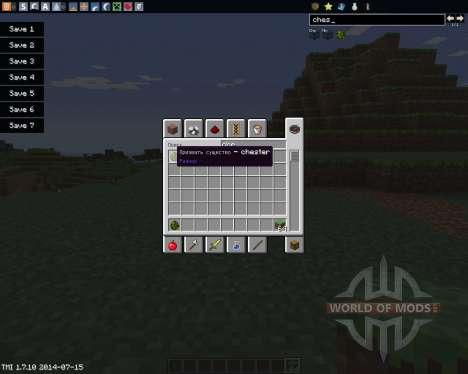 Chester para Minecraft