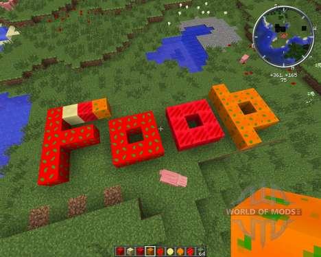 Condensed Foods para Minecraft