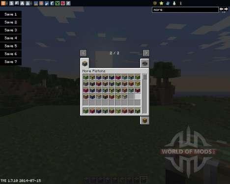 More Pistons para Minecraft