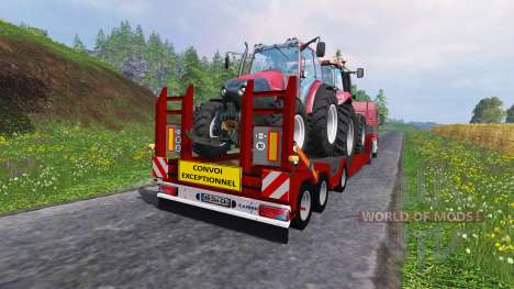 Kaiser Porte Engin Forestier para Farming Simulator 2015