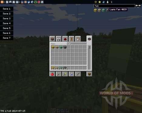 Fans para Minecraft