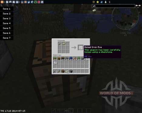 The Whetstone para Minecraft